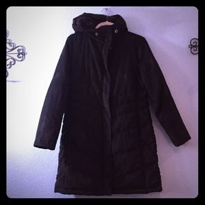L.L Bean black jacket. XS pet